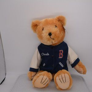 MLB 18″ Boston Red Sox Bear w/coach jacket